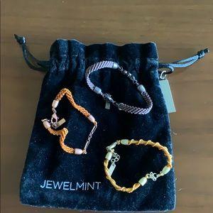 JewelMint Friendship Bracelet Set